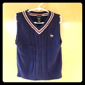 George navy sweater vest size 6